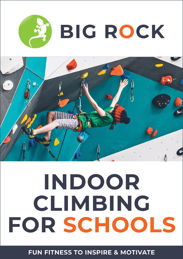 Big Rock Indoor Climbing for Schools Brochure