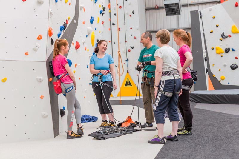 Big Rock Bond Climbing Centre, Bletchley, Milton Keynes