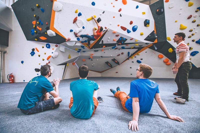 Bouldering Induction at Big Rock in Milton Keynes